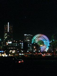 ディメンションライブで横浜に来ました。