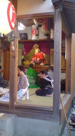今日は五泉市横町のお地蔵様祭