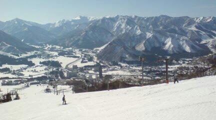 岩原スキー場です