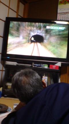 親父テレビ占拠