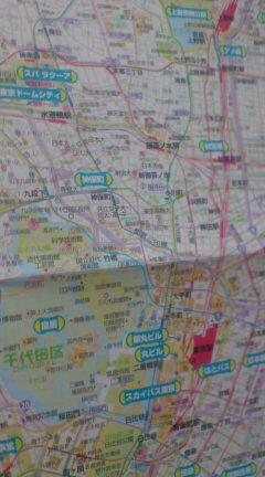 地図を見るのが面白い。