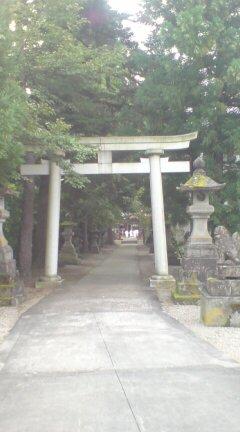 村松、住吉神社にてお祭り
