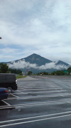 磐梯山今日は綺麗に見えます。