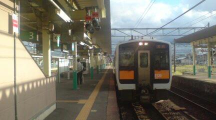 新津駅の2<br />  ・3番線ホームが