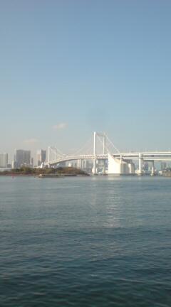 意外に東京湾綺麗です。