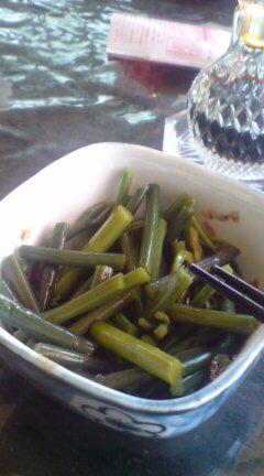 山菜食える幸せ。