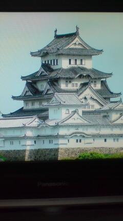 BSで姫路城してた。