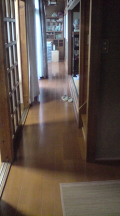 床のトンテンカン終了。